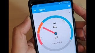 how to Find LTE Network Signal Strength and Wifi Signal in dBm on Android