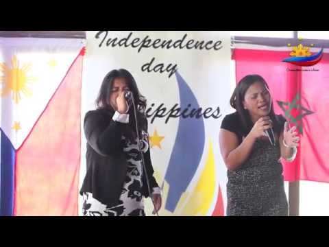 V5 Claire & Lordelyn - The Philipines Independence Day