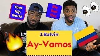 J.Balvin-Ay Vamos Official Reaction