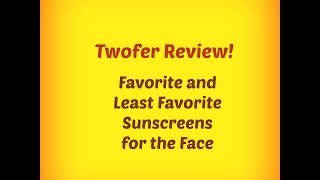 TWOFER REVIEW: Neutrogena & MDSolarSciences Sunscreens Thumbnail