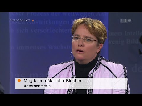 Magdalena Martullo-Blocher - BaslerZeitung Standpunkte, April 2016