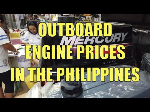 Outboard Engine Prices In The Philippines.