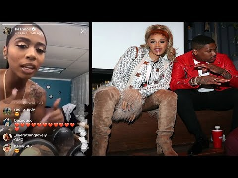 KashDoll Speaks on being Taken off cardi B & YG She BAd