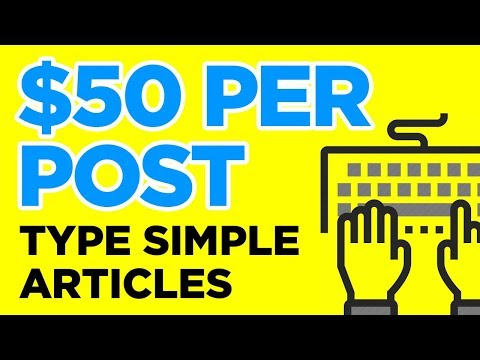 10 Sites Paying Per Post You Write