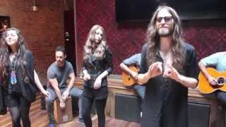 "Crystal Fighters: ""L.A. Calling"" Live on A-Sides"