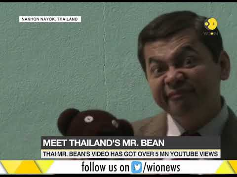 A computer technician turns Mr. Bean in Thailand