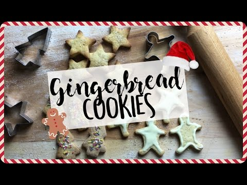 Vegan Gingerbread Cookies / Christmas Recipe