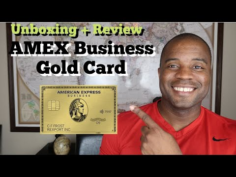 American Express Business Gold Card | Unboxing + Review