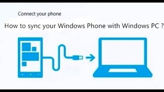 How to Connect | Sync Windows Phone 8.1 to Windows 7 | 8.1 PC?