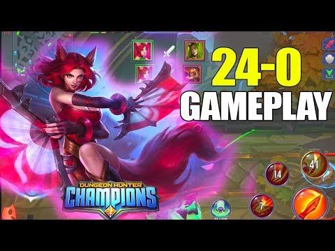 Dungeon Hunter Champions 5v5 Fox Assassin Gameplay
