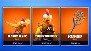 *NEW* TENDER DEFENDER SKIN! FORTNITE ITEM SHOP COUNTDOWNN November 22nd!