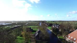 Most amazing drone footage videos | De Valom, Friesland, The Netherlands