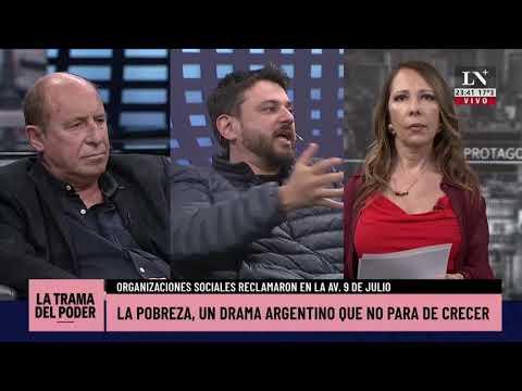 Grabois dejó en ridículo al especialista en pobreza de La Nación+