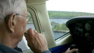 Grandpa taking off