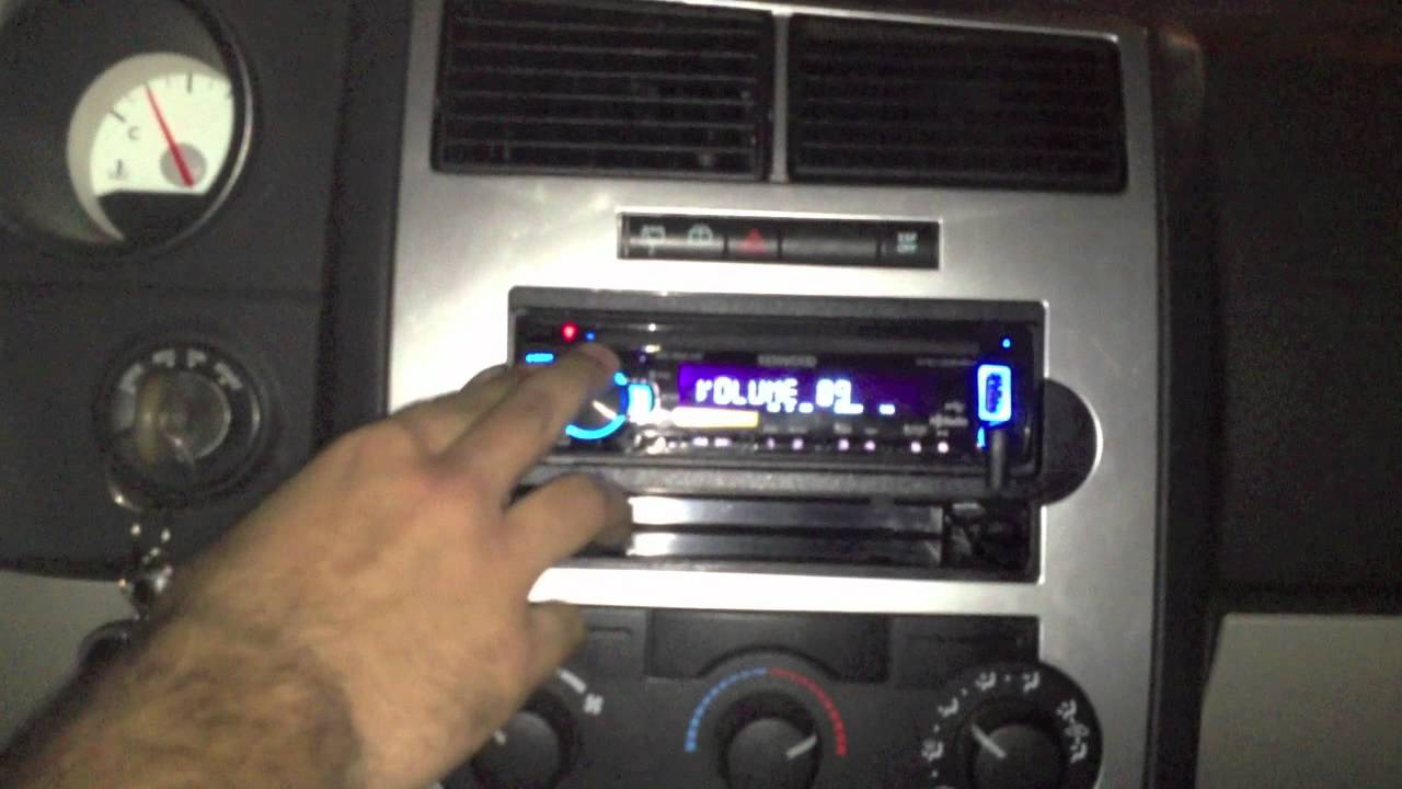 Dodge Stereo Wiring Diagram 2006 Dodge Magnum New Radio And Rse Retained Youtube