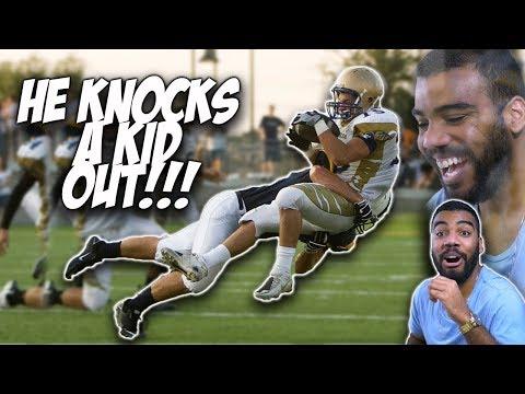 Hard Hitting Freshman Linebacker!!!- Cory Campbell Highlights [Reaction]
