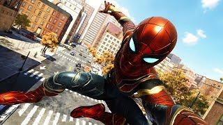 UNLOCKING IRON SPIDER INFINITY WAR SUIT!! |  Spider-Man PS4 w/Thinknoodles!