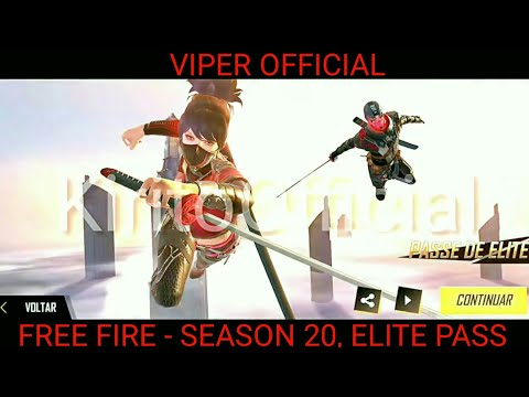 FREE FIRE - SEASON 20, ELITE PASS REVIEW BY VIPER OFFICAL