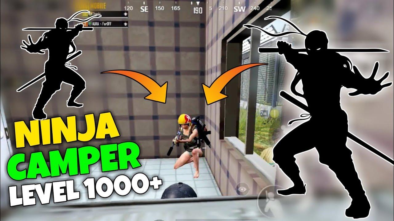 Legendary Ninja Camper using S12K - 200 IQ camper - pubg mobile Hindi Gameplay - G GURUJI