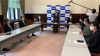 国会を開き総理が先頭に立ち現状説明を、さらにリーダーシップをとり善後策を講じるよう求めると枝野代表(2020年7月28日役員会冒頭発言)