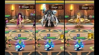 summoner war toa normal stage 70 80 90 april 2017 the auto team