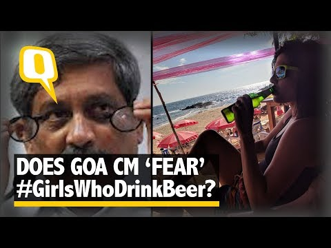 #GirlsWhoDrinkBeer Trends After Manohar Parrikar's Women-Beer Jibe   The Quint