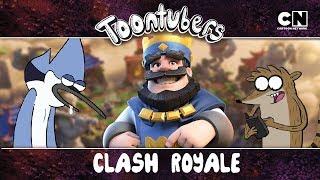 RIGBY CONSEGUIU VENCER NO SOZINHO NO CLASH ROYALE?   Toontubers   Cartoon Network