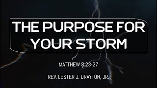 The Purpose of Your Storm