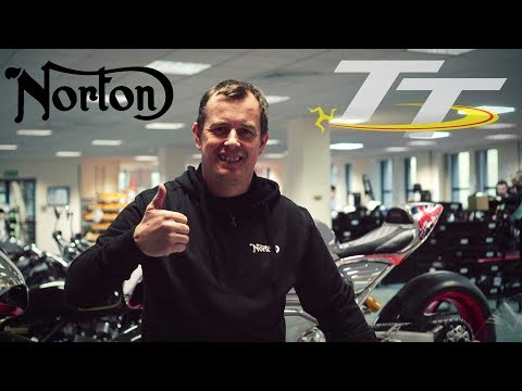 John McGuinness to ride for Norton at TT 2018