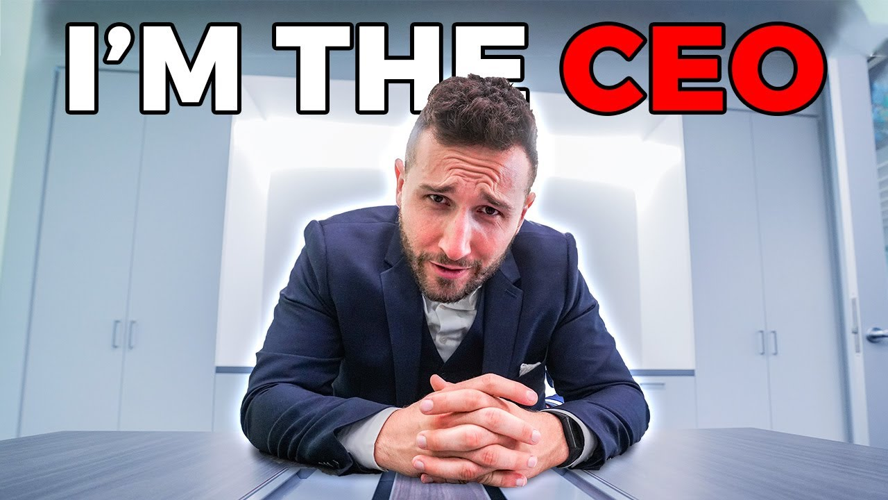 I Became CEO of a Billion Dollar Company for a Day