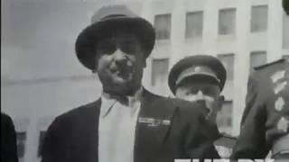 Военный парад в Минске 1 мая 1946 года