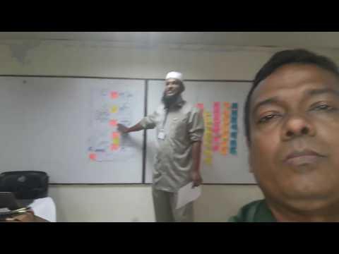 Innovation class by a2i at Bangladesh Marine Academy