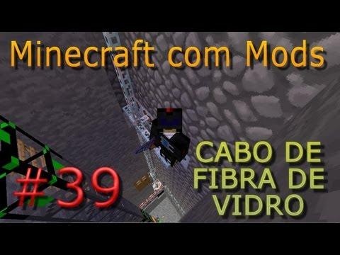 Glass Fibre Cable ☜═㋡ Minecraft com Mods #39
