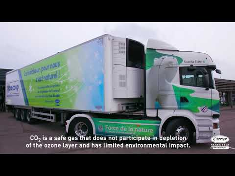 Carrier Transicold - Natural Refrigerant Trailer unit with