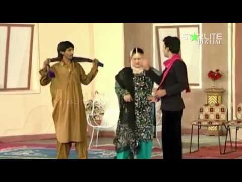 Thora Thora Chan Waikhiya   Full Comedy Stage Drama   Nasir Chinyoti, Tariq Teddy,   HD