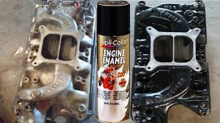 Painting Intake Manifold With Dupli-Color® Engine Enamel