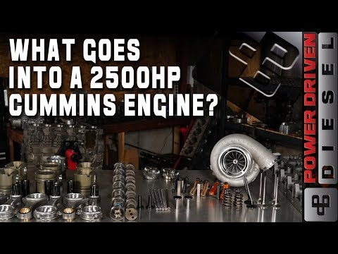What Goes Into a 2500HP Cummins Engine? | Power Driven Diesel