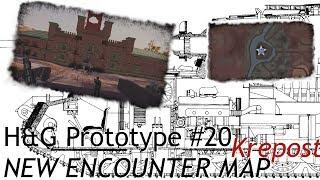 H&G Prototype #20 NEW ENCOUNTER MAP - Krepost [German; HD]