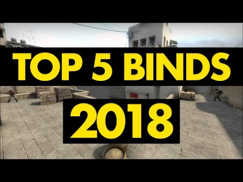 CS:GO | TOP 5 BINDS 2018 - YouTube