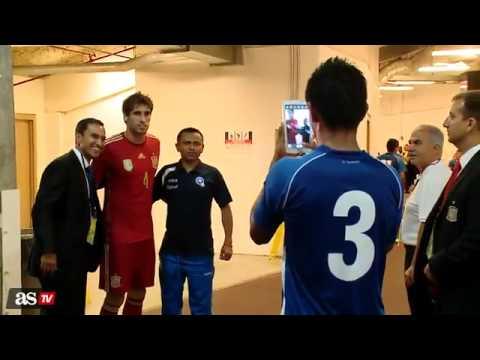 El Salvador vs España