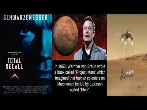 Mars Rover Landing Hoax - Elon Musk & Total Recall Mars Hollywood Programming - The Occult Of Mars