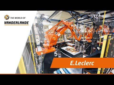 The World Of Vanderlande: E.Leclerc