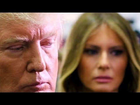 Trump Exits Plane & Slams SUV Door In Melania's Face; Plus Some Hannity & Sassy Trump