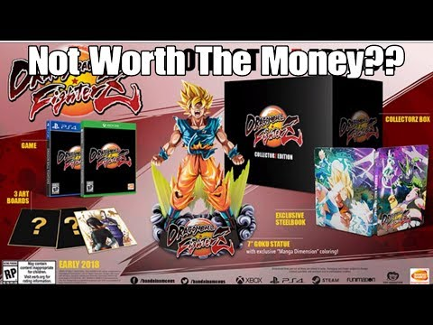 DONT BUY Dragon Ball Fighterz Collectors Edition Before Watching This Video! Huge Rip Off?