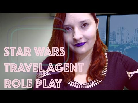 Star Wars Travel Agent 🌟 Role Play ASMR