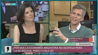 ¿Por qué la economía argentina no despega pero la de Bolivia, Perú y Chile, sí?