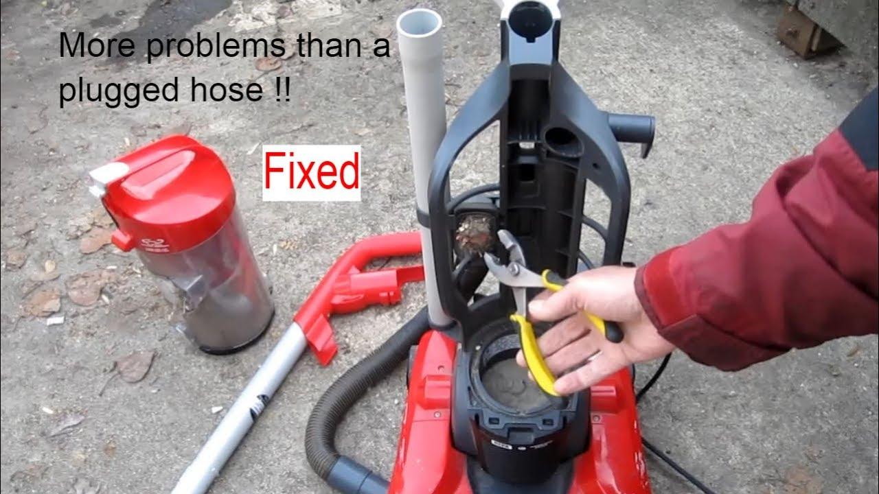 Dirt Devil Vacuum Lost Suction Fix