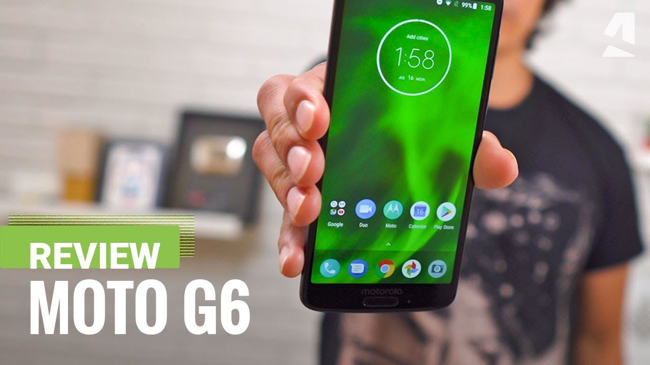 Moto G6 hands-on review