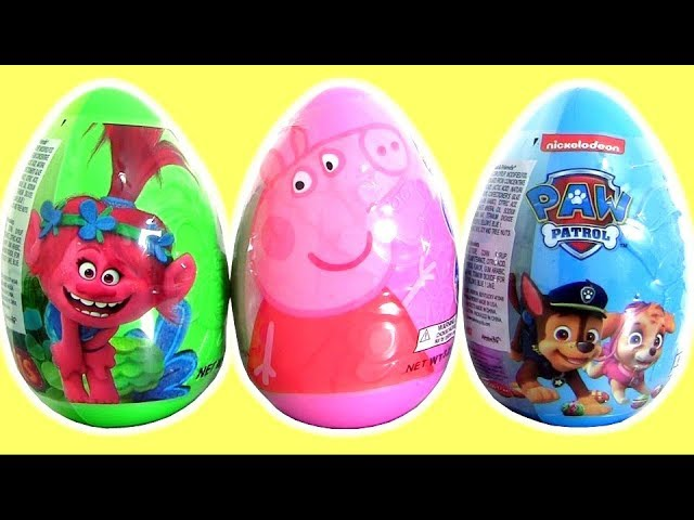 Trolls Poppy Egg Surprise | Paw Patrol Egg Surprise