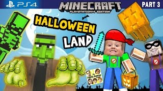 Chase & Duddy play in MINECRAFT Halloween Land w/ Nether & The End DLC (FGTEEV PS4 Part 3 Gameplay) thumbnail